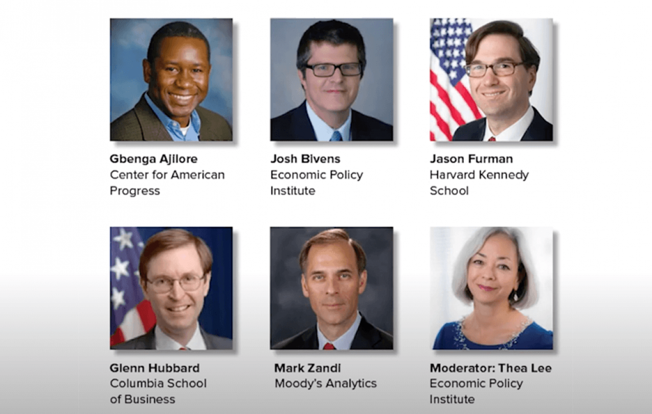 Pictured economists